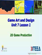 Unit_7_1_2D_Game_Production