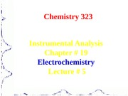 Electrochemistry Lecture 5
