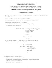 Tutorial 5 solutions