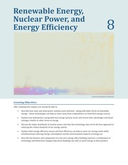 Ch 8 Renewable Energ Nuclear Power and Energy Efficiency