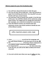 What to expect for your first Vocabulary Quiz.pdf