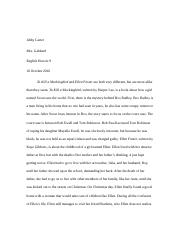Tkam and Ellen Foster Essay
