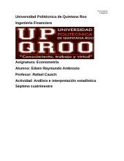 Analisis estadistico, dispersion y regresion_UPQROO_Edwin Ambrosio.docx