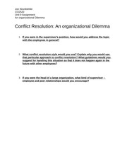 CO2520_unit 9 Conflict Resolution