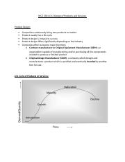 MGT 3501 Ch.3 Design of Products and Services.docx