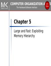 Chapter05Memory Hierarchy