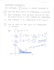 Math 242-Sec. 6.3 Lecture notes