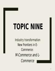 10 - New Frontiers in E-Commerce.pptx