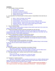 Fin453 Exam 1 Review Notes and Study Guide