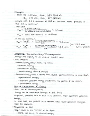Chemistry Thermodynamics Notes