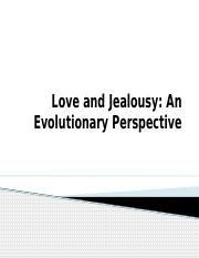 Love & Jealousy-an evolutionary perspective.pptx