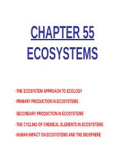 Unit-2-Ecology-Chp-55-Ecosystems
