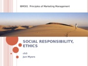 Chapter 3 -Social Ethical