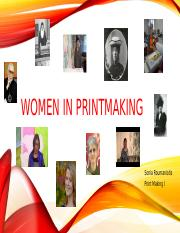 Women in printmaking.pptx