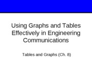 Lect 6 graphs and tables