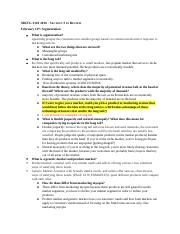 MKTG 3310 Section 3 Study Guide - A (Autosaved) (Autosaved).docx