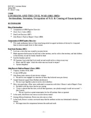 Lecture 11(The Civil War in LA)