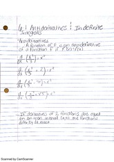Antiderivatives & Approximations