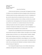 Copy of Ros and Guil Final Essay