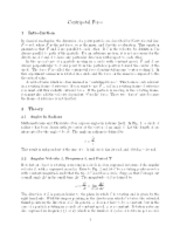 Centripetal-Force notes and lab
