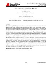 The Financial System in Albania.pdf