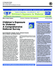 Children Exposure to Violence