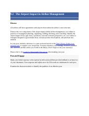 9.2   The Airport Impact in Airline Management .docx