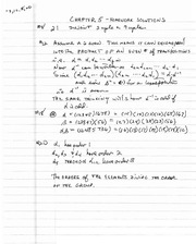 Math 411 Solutions to Chapter 5  Problems