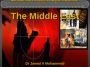 Lecture 5 The Middle East