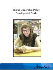 digital citizenship policy development guide