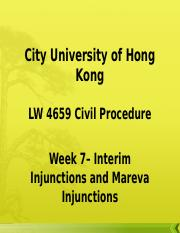 Interim Injunctions and Mareva Injunction.ppt