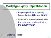 Lect6B_MortgageEquity_IRR-Partition
