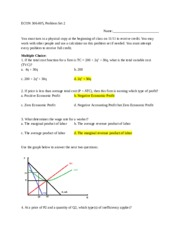 Problem Set 2 Suggested Solutions