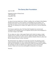 The Danny Bair Foundation