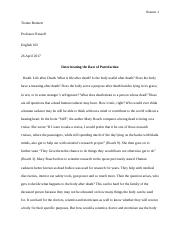 Tionne Bennett Research Paper.