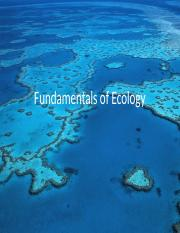 CH 3 Fundamentals of Ecology.ppt