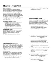 Chapter 13 (2) Study Guide