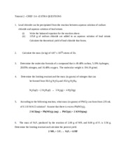 EXTRA QUESTIONS- Tutorial Topic 2  (Q only) CHEF 114-NEW-June 2014 (4)