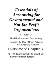 acct 410 government and not for Here is the best resource for homework help with acct 410 : governmental and  not-for-profit organization at md university college find acct410 study.