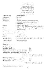 Prontuario BIOL3101 2do SEMESTRE 2015-16 II