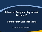 Lec13 Concurrency