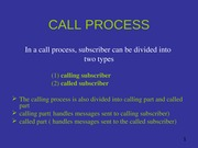 CALL PROCESSING