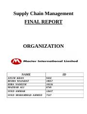 Supply Chain Management (1)