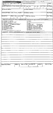 chp traffic accident report