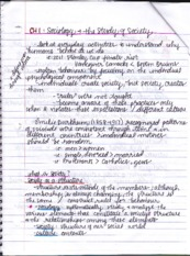 SOCI Chapter 1 Notes