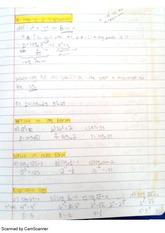 chapter 3 precalculus notes