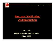 Biomass Gasification An Introduction-BC Jain