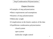 Chapter 3-Step-Condensation Polymerization-final