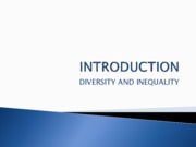 Introduction and Theories of Inequality