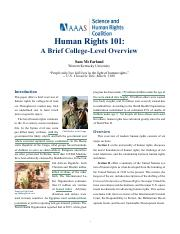 AAAS Coalition Human Rights 101_0